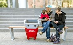 Are New York's Solar-Powered Benches the Best Idea Ever?