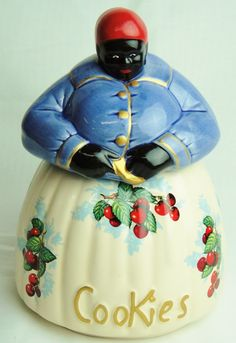 mccoy black americana mammy antique white cookie jar please look at Mccoy Cookie Jars, Antique Cookie Jars, Blue Cookies, Cherry Cookies, Mccoy Pottery, Vintage Pottery, Biscuit Cookies, Cookie Dough, Vintage Dishes