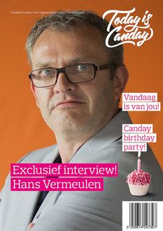 Canday Cover: Hans Vermeulen - Canday 1e Birthday Party