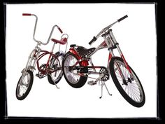 Chopper Bike and an Orange Crate!!