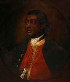 Ignatius Sancho, 1768 (Thomas Gainsborough) (1727-1788) National Gallery of Canada, No. 58
