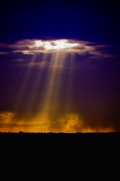 Crepuscular rays,,,,,,Busting Through Is Miss Pilot,,,She Does Things Like This.