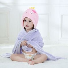 12e9c67c61 12 Styles Designs Hooded Animal modeling Cloak Baby Bathrobe Cartoon Baby  Towel Character kids