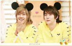 Kim Hyun Joong 김현중 ♡ Kim Hyung Jun ♡ SS501 ♡ mouse ears ♡ Kpop ♡ Kdrama ♡ lol cute! (⌒▽⌒)