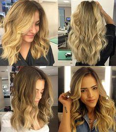 Do loiro escuro ao platinado, o cabelo loiro é o desejo de muitas mulheres…
