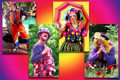 A colorful and wacky clown is the perfect touch to any event.  With over the top antics and infectious charm, our clowns will put a smile on everyone's face!