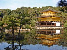 Pabellón Dorado (Kinkaku-ji), Kioto