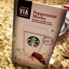 Starbucks VIA Peppermint Mocha