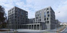 Max Dudler Architekt - Zentrumsüberbauung Rosengarten Arbon