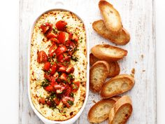Baked Goat Cheese Di
