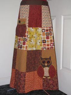 Love patchwork skirts