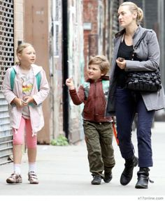 Mia and Joe, Kate Winslet's kids