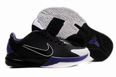 4bb0a9695e05 Nike Zoom Kobe 5 (V) Black White Purple