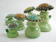 """Malene Hartmann Rasmussen; Sculpture, """"""""Flowers"""""""""""