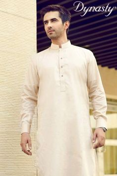 Dynasty Fabrics eid collection 2013 for men has recently launched.This collection has consists of simple plain kurta shalwar. B Fashion, Fashion Fabric, Fashion Outfits, Eid Collection, Winter Collection, Dynasty Clothing, Shalwar Kameez, Sherwani, Western Outfits