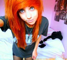 #Scene #hair #orange - I Follow All Tumblrs http://www.staged.com/i/TWprMA/Spzkaz