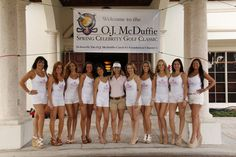 O.J. McDuffie Catch 81 Foundation Celebrity Golf Classic- 3/31/12