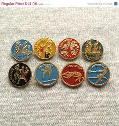 Fashion Style Beijing 2008 Olympics Pin Badge In Presentation Box. Olympic Memorabilia