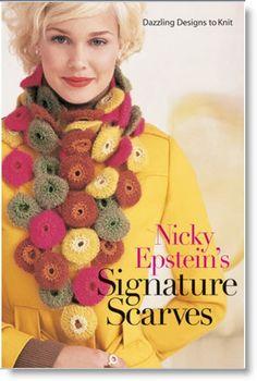 "Winner of ""Nicky Epstein's Signature Scarves: Dazzling Designs to Knit"" · Felting | CraftGossip.com"
