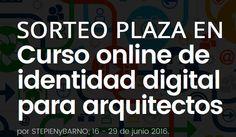 Sorteo de una plaza para 5º Curso online de Identidad Digital para arquitectos