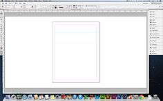 how to set up an indesign document with bleed