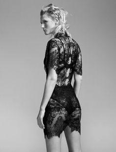 Toni Garrn by Benjamin Lennox for L'Express Style February 2016