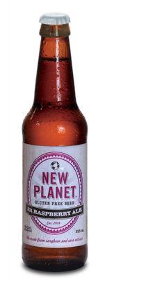 Cerveja New Planet 3R Raspberry Ale, estilo Fruit Beer, produzida por Fort Collins Brewing, Estados Unidos. 5% ABV de álcool.