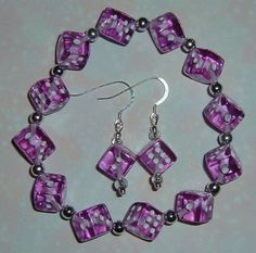 Dice Jewelry Set  Bunco / Bunko party gift  by LeighsCreativeGifts, $7.00