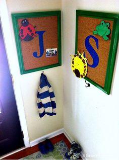 Back to School Art Display by @Danielle Lampert @ 2 Little Superheroes #Michaelsbts