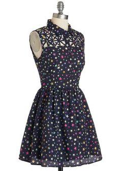 Star Catching Dress, #ModCloth