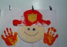 Firefighter and fire safety crafts for kids Fireman Crafts, Firefighter Crafts, Firefighter Images, Fire Safety Crafts, Fire Safety Week, Fire Prevention Week, Community Helpers Preschool, Preschool Activities, Preschool Kindergarten