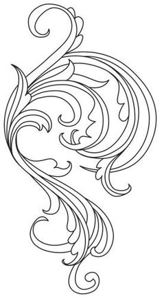 Embroidery Pattern of Gilded Heraldry Flourish Embroidered by forgetmeknottreasure.etsy.com. jwt