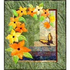 Bargello Patterns, Applique Quilt Patterns, Beginner Quilt Patterns, Patchwork Patterns, Applique Ideas, Easy Quilts, Mini Quilts, Butterfly Quilt, Flower Quilts