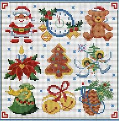Thrilling Designing Your Own Cross Stitch Embroidery Patterns Ideas. Exhilarating Designing Your Own Cross Stitch Embroidery Patterns Ideas. Xmas Cross Stitch, Cross Stitch Christmas Ornaments, Christmas Embroidery, Christmas Cross, Counted Cross Stitch Patterns, Cross Stitch Designs, Cross Stitching, Cross Stitch Embroidery, Embroidery Patterns