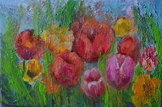 Spring.Oil Modern art made by Shpak K.