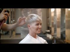 Another incredible Pixie Cut on CJ I By Adam Ciaccia - YouTube