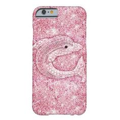 Cute dolphin, glitter pink