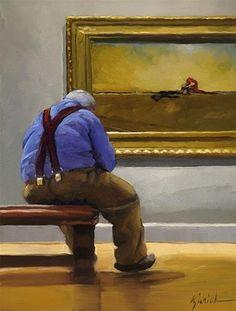 "Daily+Paintworks+-+""Loners""+-+Original+Fine+Art+for+Sale+-+©+Karin+Jurick"