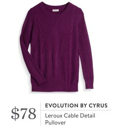 Evolution sweater from Stitch Fix  https://www.stitchfix.com/referral/7393950