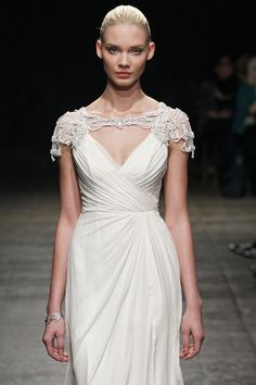 Wedding Dresses: Crystal Ivory Gown