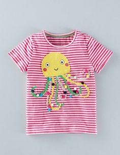 T-Shirt mit Meeresmotiv