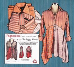Paganoonoo is a fashion design house founded by Michelle Paganini, dedicated to creating refashioned / upcycled fashion designs and specializing in sewing patterns. This blog shares our interests in upcycling and related arts and inspiration.