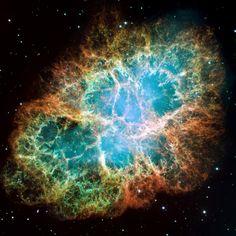 "Aufnahme des ""Hubble""-Weltraumteleskops vom Krebsnebel. spiegel-online.de"
