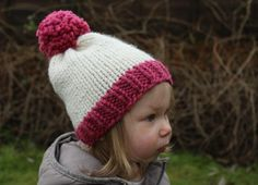Mini Bobble Hat | AllFreeKnitting.com