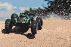 Arrma Kraton 6S 1/8 RC Monster Truggy 4WD • 6S LiPo ready & capable of triple back flips.