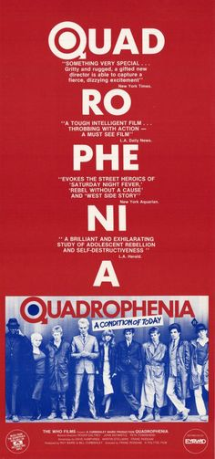 """Quadrophenia"" (1979). COUNTRY: United Kingdom. DIRECTOR: Franc Roddam."