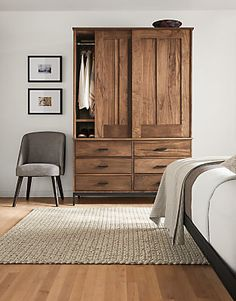 Inspiring 26 Best Warm Industrial Bedroom Ideas Placing furniture in an open design produces a room look larger. Strong flooring is reasonable. In the end, if you'd like to add home off Modern Bedroom Furniture, Home Office Furniture, Home Decor Bedroom, Cool Furniture, Furniture Design, Bedroom Ideas, Furniture Stores, Furniture Dolly, Walnut Furniture