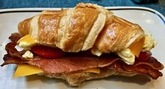 https://flic.kr/p/NbrnBn | commuter croissant Corner Bakery & Cafe San Francisco | www.placesiveeaten.com/blog/corner-bakery-and-cafe-market...