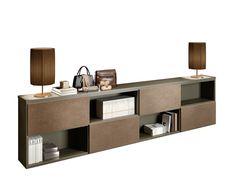 Harvey specter 39 s office interiors pinterest storage for Vetrinetta bassa arte povera