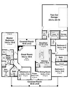 The Aspen Creek House Plan ... a single story home,